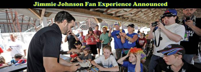 Jimmie Johnson Fan Experience 2013