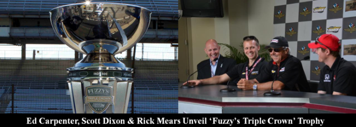 Fuzzys Triple Crown Trophy Reveal
