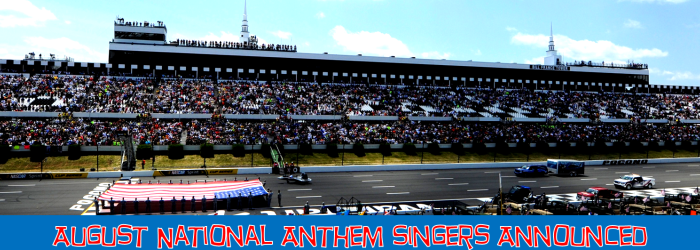 August National Anthem Singers